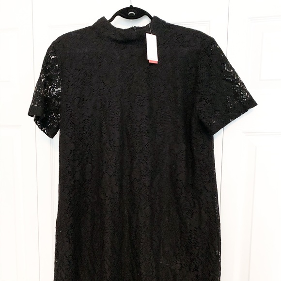 Joe Fresh Dresses & Skirts - Black Lace Shift Dress